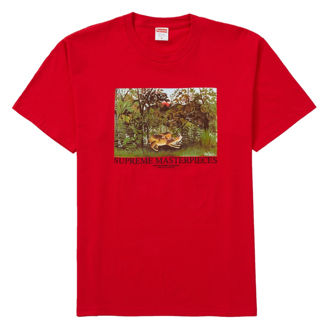 Supreme Red Masterpiece Tee Large