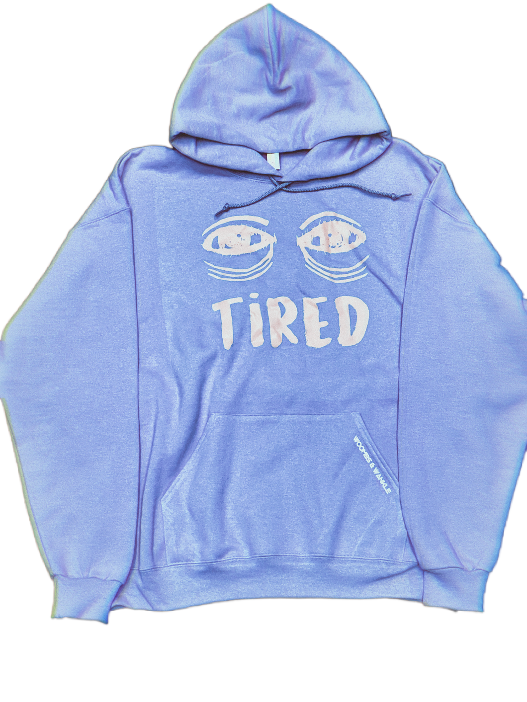 Light Blue Tired Hoodie