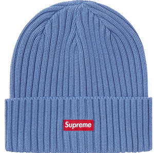 Supreme Overdyed Beanie Blue