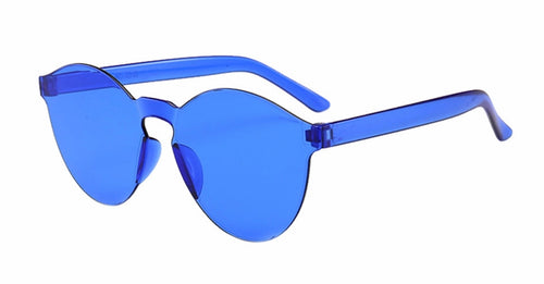 All Clear Blue Sunglasses