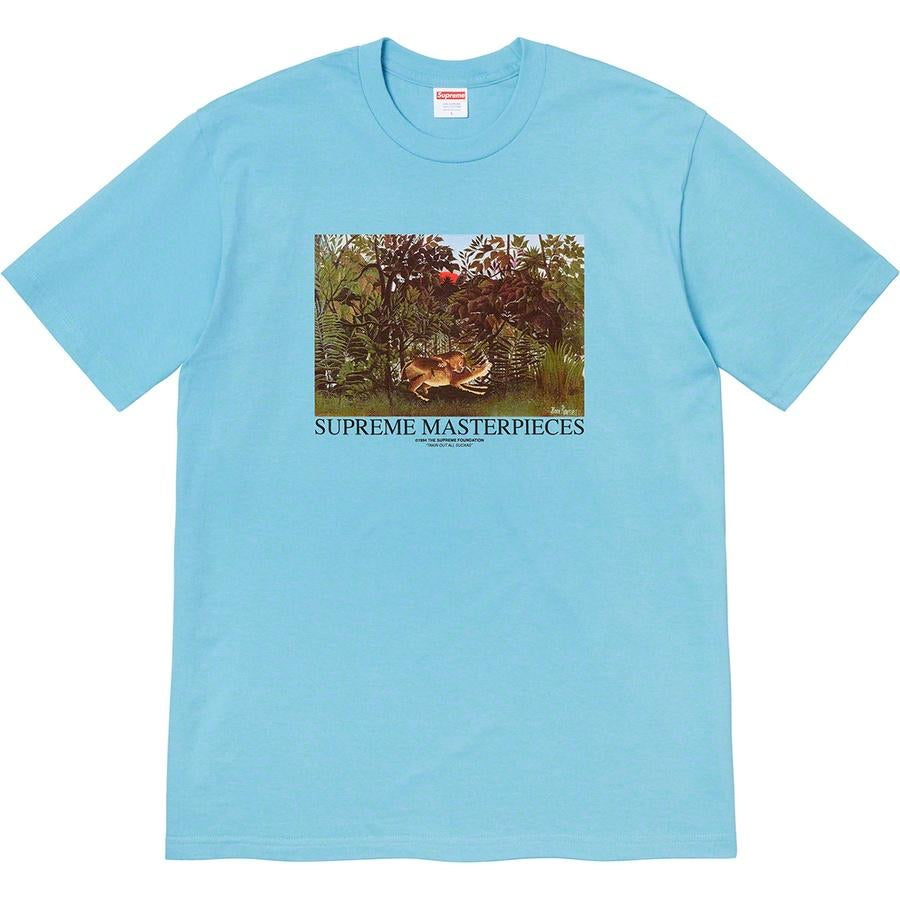 Supreme Blue Masterpiece Tee Medium