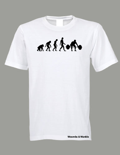 Evolution Lifting Tee - White