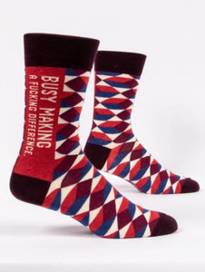 Making A Difference Men's Socks