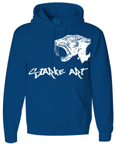 Sabertooth Hooded Sweatshirt - Starke Art - Colors