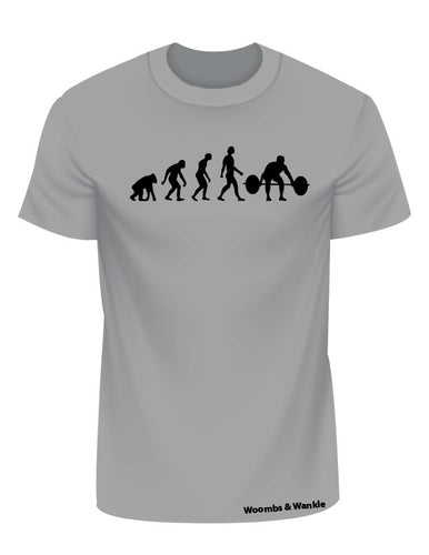 Evolution Lifting Tee - Heather Grey