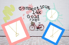 Proud Connecticut Necklace