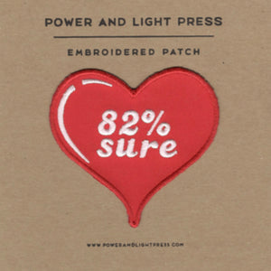 82% Sure Patch