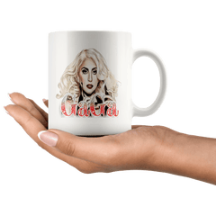 11oz White Mug - Original Artwork - Lady Gaga
