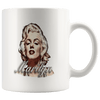 Image of teelaunch Drinkware 11oz Mug 11oz White Mug - Original Artwork - Marilyn