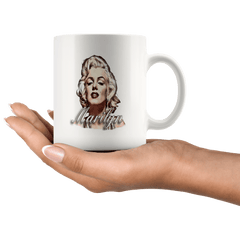 11oz White Mug - Original Artwork - Marilyn