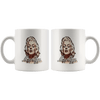 Image of teelaunch Drinkware 11oz White Mug - Original Artwork - Marilyn