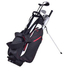 "Costway Golf 8.5"" 4-way Waterproof Golf Stand Cart Bag"
