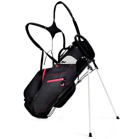 "CW Golf 8.5"" 4-way Waterproof Golf Stand Cart Bag"