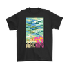 "Image of teelaunch T-shirt Long Sleeve Tee / Black / S ""BEACHING"" PREMIUM T-SHIRT"