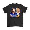 Image of teelaunch T-shirt Gildan Mens T-Shirt / Black / S Biden and Harris 2020 Graphic Novelty T-Shirt