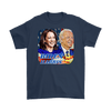 Image of teelaunch T-shirt Gildan Mens T-Shirt / Navy / S Biden and Harris 2020 Graphic Novelty T-Shirt