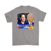 Image of teelaunch T-shirt Gildan Mens T-Shirt / Sport Grey / S Biden and Harris 2020 Graphic Novelty T-Shirt