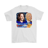 Image of teelaunch T-shirt Gildan Mens T-Shirt / White / S Biden and Harris 2020 Graphic Novelty T-Shirt