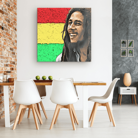 Bob Marley Canvas Print Wall Art