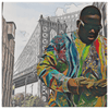 Image of teelaunch Canvas Wall Art 2 8 x 8 Brooklyn's Son - B.I.G. Canvas Portrait Wall Decor