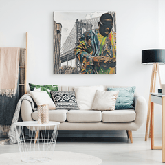 Brooklyn's Son - B.I.G. Canvas Portrait Wall Decor