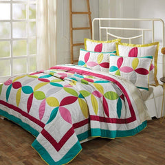 VHC Quilts Everly LUX-KING-SET; QUILT - 120WX105L  2 SHAMS -21X37