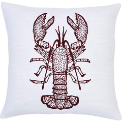 LOBSTER PILLOW 18X18