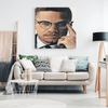 Image of Canvas Wall Art 2 Malcolm X Wall Art Canvas Print