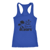 "Image of teelaunch T-shirt Racerback Tank / Royal / XS Premium ""HAVE MY SUNNY"" Women's Fashion Top"