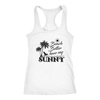 "Image of teelaunch T-shirt Racerback Tank / White / XS Premium ""HAVE MY SUNNY"" Women's Fashion Top"