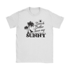 "Image of teelaunch T-shirt Womens T-Shirt / White / S Premium ""HAVE MY SUNNY"" Women's Fashion Top"