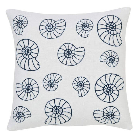 VHC Pillows SEASHELL ENCHANTMENT PILLOW COVER 18X18