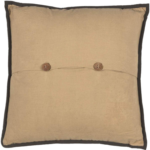 VHC Pillows SENECA CANOE EMBROIDERED PILLOW 18X18