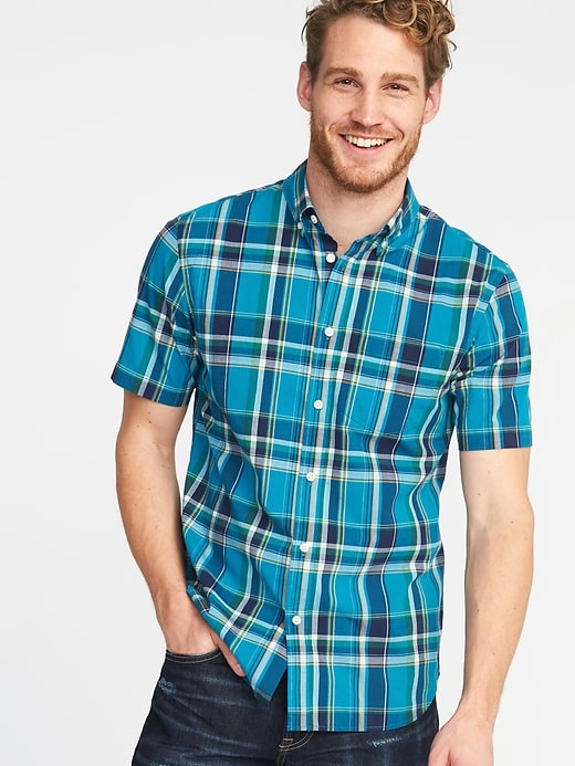Slim-Fit Built-In Flex Everyday Shirt