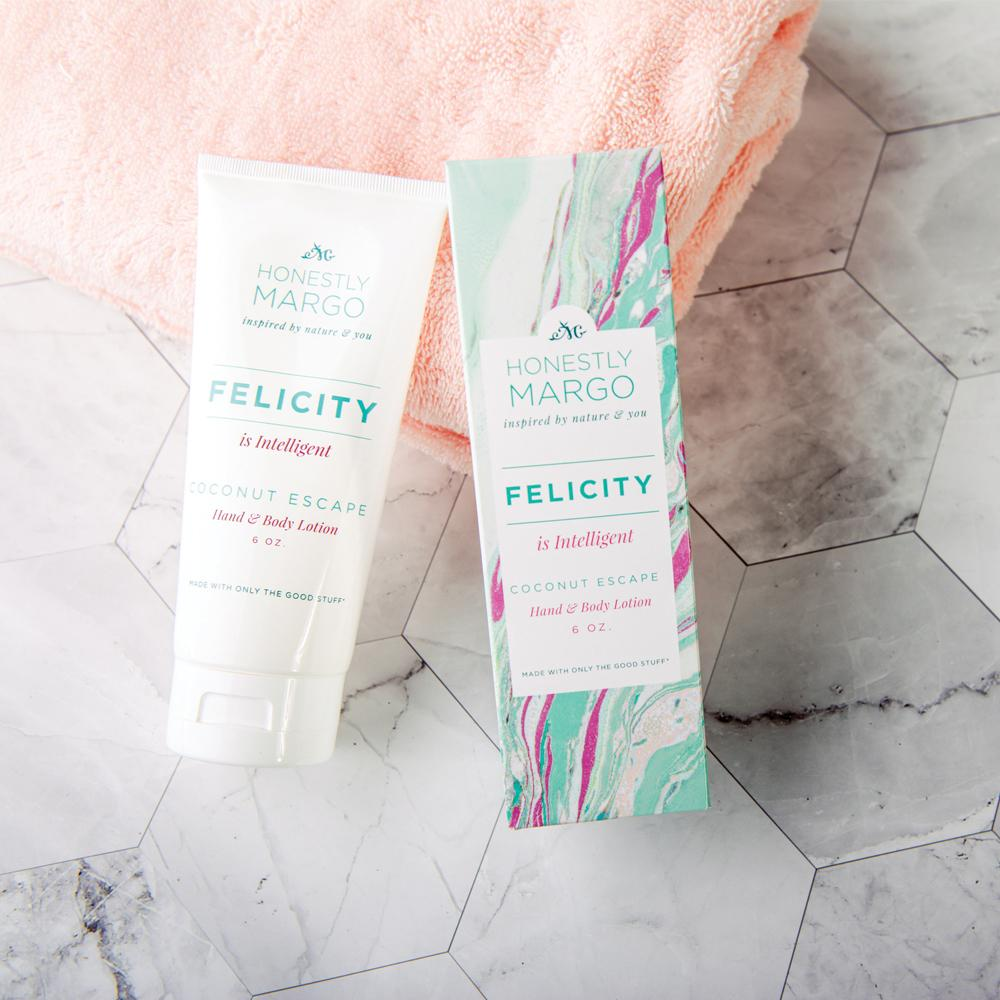 Coconut Escape Felicity Hand and Body Lotion