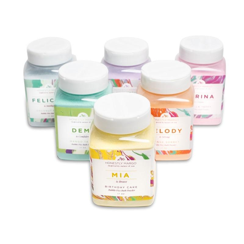 Bubble Fizz Bath Powder Complete Set