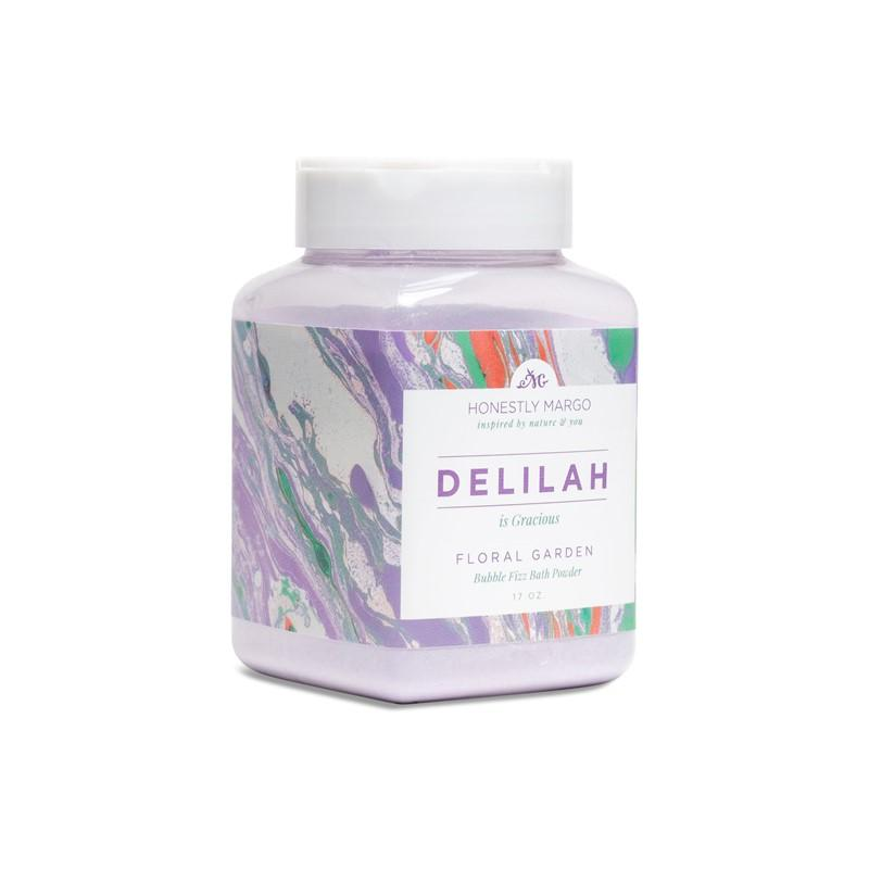 Floral Garden Delilah Bubble Fizz Bath Powder