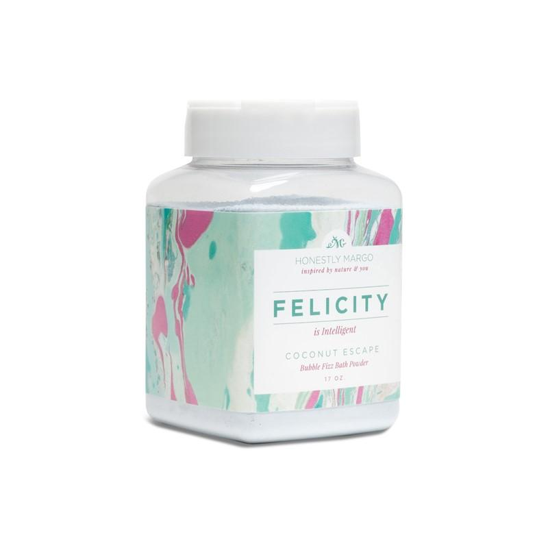 Coconut Escape Felicity Bubble Fizz Bath Powder
