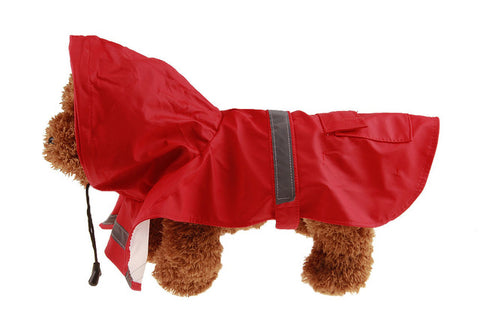 Wet Weather Pet Poncho Raincoat