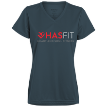 HASfit Claudia's Jersey - Performance Dri-Fit Ladies' V-Neck T-Shirt