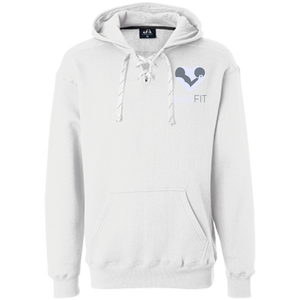 HASfit Game Time Hoodie - Embroidered Premium Sport Lace Hoodie