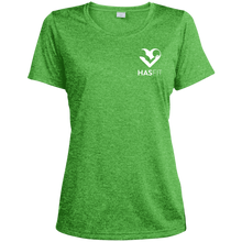 HASfit Performance Queen - Dri-Fit Ladies' Heather Moisture-Wicking T-Shirt