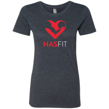 HASfit Passion T - Premium Soft Ladies' Triblend T-Shirt