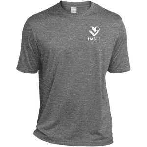 HASfit Performance King - Dri-Fit Heather Moisture-Wicking T-Shirt