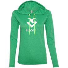 HASfit Ladies Lounger - Lightweight T-Shirt Hoodie