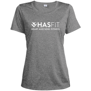 HASfit Breathe Performance - Dri-Fit Ladies' Heather Moisture-Wicking T-Shirt