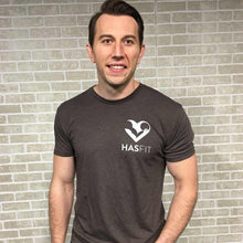 HASfit Humble Heart - Soft Premium Triblend T-Shirt