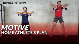 SALE: Motive: The 30 Day Home Athlete's Plan - Jan '19