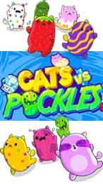 Cats Vs. Pickles - Pickles
