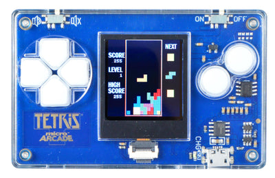 World's Smallest Micro Arcade - Retro Arcade Games